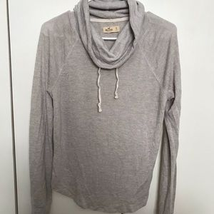 Hollister cowl neck pull over